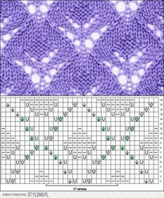 26 trendy Ideas for knitting machine patterns free yarns 26 trendy. 26 trendy Ideas for knitting machine patterns free yarns 26 trendy. Lace Knitting Stitches, Knitting Machine Patterns, Knitting Charts, Loom Knitting, Knitting Designs, Knit Patterns, Knitting Projects, Hand Knitting, Stitch Patterns