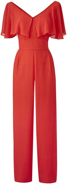 Cute plus size red jumpsuit - http://www.boomerinas.com/2017/02/26/3-easy-ways-to-put-together-cruise-vacation-wardrobes-tips-for-summer-travel-nautical-outfits/