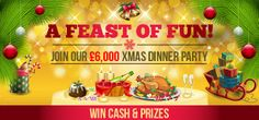 "Posh People Play Posh Online Bingo! Posh Bingo Xmas Gifts Giveaway Time Table! Win either an iPad Mini, Sony Vaio Laptop, 32"" Widescreen 3D TV. Saturday 14th Dec @ 9pm  Specials tab Xmas Presents room. Card Price: 10p  Min & Max cards per player: 1 – 96  http://www.initto-winit.com/bingo/posh-bingo/"
