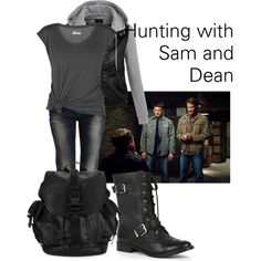 Hunting With Sam & Dean Winchester