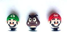 3D Nintendo Super Mario Brothers Shoe Charms (3 Charms) - Jibbitz Croc Style by Hermes. $8.99. Collect them all, Mix 'n Match, trade your friends.