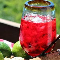 Try this: A yum, divine and festive rum sorrel cocktail for the upcoming Season A Fabulous Life in Jamaica!: Some {Fab} and Unique Rum Cocktails