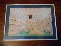 Boston Celtics Old Boston Garden Los Angeles Lakers 1980s Unsigned Print Sports #Realism