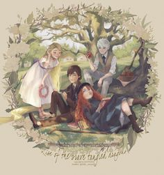 Jack Frost Rapunzel Hiccup and Merida