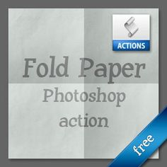 Paper Fold Photoshop Generator Action | actions4photoshop.com