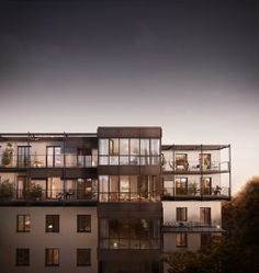 Sébastien Berthier / 3D Visualisation Studio / Stockholm / Oscar Properties / Penthouse