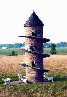 goat storage house. Who would have one of these?