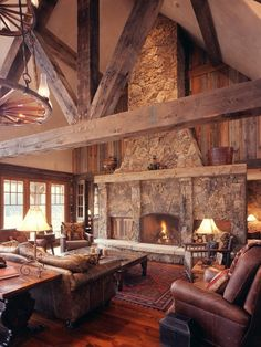 Piękne drewniane wnętrze #inspiration #wood #home