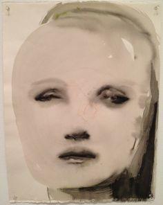 Marlene Dumas watercolor - Google Search