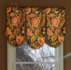 Adapted to Continental Rod Inverted Box Pleat Balloon Valance #valances