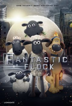 This fantastic flock is coming to the Big City and theaters TODAY in the #ShaunTheSheep Movie. Get your tickets: lions.gt/shauntickets