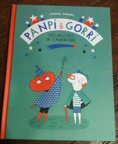 """Pampi et Gorri. Deux personnages à retrouver dans le magazine """"George """". Excellent!"""