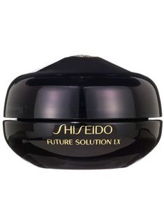 Shiseido Future Solution LX Eye and Lip Contour Regenerating Cream Review: Skin Care: allure.comThis lavish cream is specifically formulated to target tough wrinkles and sagging around the eyes and lips (and it does so quite well).