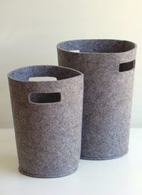 via bklyn contessa :: via cs post & co :: felt basket :: storage solution :: $35 {large}