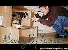 Be safe, when you are Moving by yourself