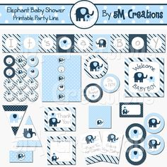 Elephant Baby Shower – 5M Creations Blog