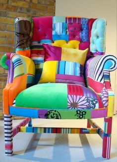 The Peebles Wing - squint ltd #chair #art #design