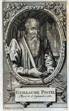 Guillaume Postel and a Tintoretto painting - blog at medmeanderings.com