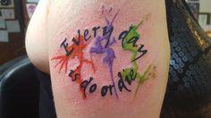 @Shinedown Tattoo submitted by Amanda Walker #HowDidYouLove lyrics #ShinedownTattoos #shinedownink #shinedown