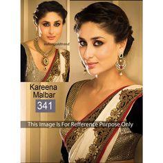 Karina Viscos 60gm Georgette Chiffon Bollywood Dress