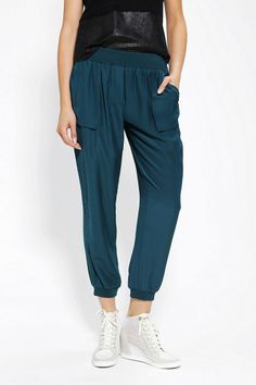 Silence + Noise Pull-On Track Pant New Colors Available