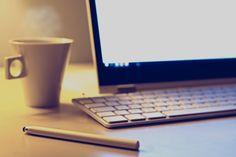 New free stock photo of coffee desk notebook - Stock Photo