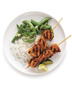 """Red Curry Chicken Skewers 