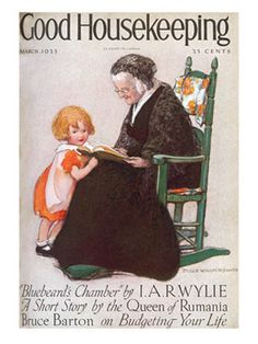 Early Magazine Covers - 1920s Vintage Magazine Covers - Good Housekeeping