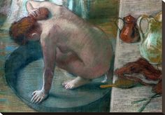 The Tub (Bathing Woman), 1886 Giclee Print by Edgar Degas at AllPosters.com