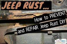 Does your Jeep have any rust yet? Hopefully, not. I'm going to show you how to prevent your Jeep from rusting and how to tackle DIY Jeep frame rust repair yourself. 2004 Jeep Wrangler, Jeep Wrangler Unlimited, Diy Rust Remover, Rust Removal, Car Rust Repair, Jeep Frame, Rustoleum Paint, 2014 Jeep Grand Cherokee, Packing Tips For Travel
