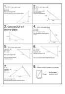 Pythagoras Revision Race with scoreboard Pythagorean Theorem, Secondary School, Math Teacher, Maths, Teaching Resources, Activities, This Or That Questions, Middle School, Math Coach