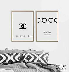 Coco Chanel prints Coco Chanel posters Coco Chanel quote