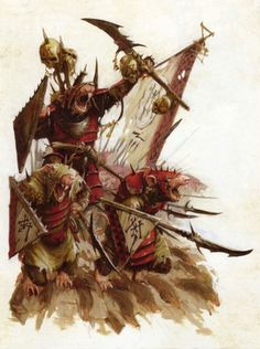 skavens, par (auteur inconnu), inWarhammer Battle, par Games Workshop