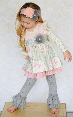 Giggle Moon Baby | Graced Maddison Dress & Legging Set