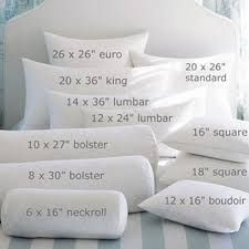 king bed pillow arrangement - Google Search More