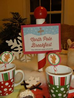 North Pole with Reindeer Breakfast Christmas/Holiday Party Ideas | Photo 1 of 33