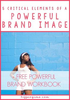 Establishing a solid and recognizable image is what will help people think about you, even when they are not in front of your brand. Click through for a free workbook!