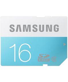 Samsung Standaard SD-Kaart 16GB Class 6