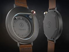 Titled 'Time', these watches by designer Colby Higgins carry an element of dreaminess. The first one, targeted at the male demographic, has an appealingly