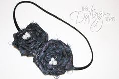 "The Dating Divas: ""Scrappy Fabric Rosette Headband"" Tutorial"