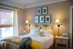 Benjamin Moore Shenandoah Taupe master bedroom paint color | Involving Color Paint Color Blog