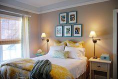Benjamin Moore Shenandoah Taupe master bedroom paint color | Involving Color Paint Color Blog