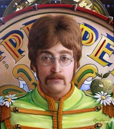 John Lennon Sargeant Pepper Lonely Hearts Club Band