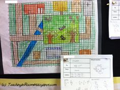 Creating a plan for what a typical colonial village would look like based on research.  Then adding some math in there!  http://teachinginroom6.blogspot.com