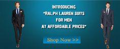 "Introducing ""Ralph Lauren suits for men at affordable prices"" Shop now!  #MensSuits #RalphLauren #ShopNow #MensITALY"