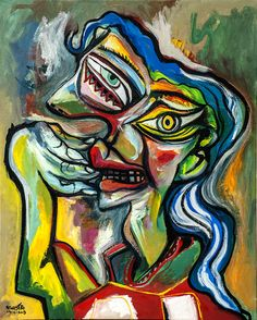 OIL PAINTING 2013 by Raul Canestro, via Behance