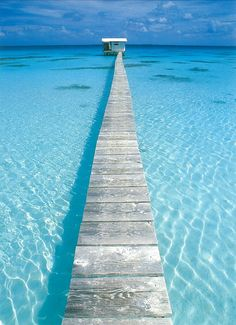 The crystal clear waters of Tahiti...