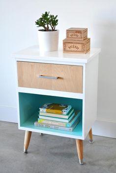 vintage nightstand m