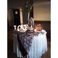 Vintage Στολισμός γάμου, τραπέζι ευχών Wedding Entrance Table, Table Decorations, Party, Wedding Ideas, Furniture, Vintage, Home Decor, Decoration Home, Room Decor