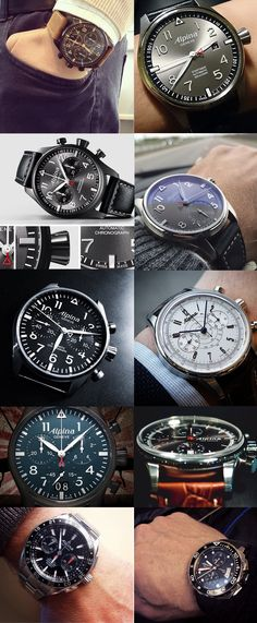 The most liked Alpina watches in social media in 2014. www.alpina-watches.com